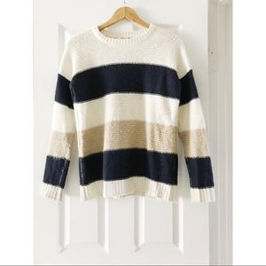Chunky Striped Sweater